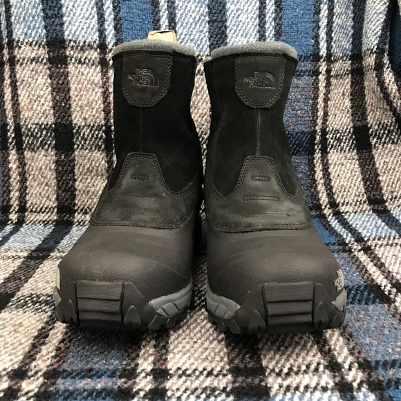 ce762a5b1a4 New North Face Leather Pull On ChilKat Men's Boots NWT